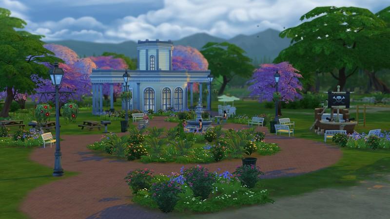 Les Sims 4 Magnolia Blossom