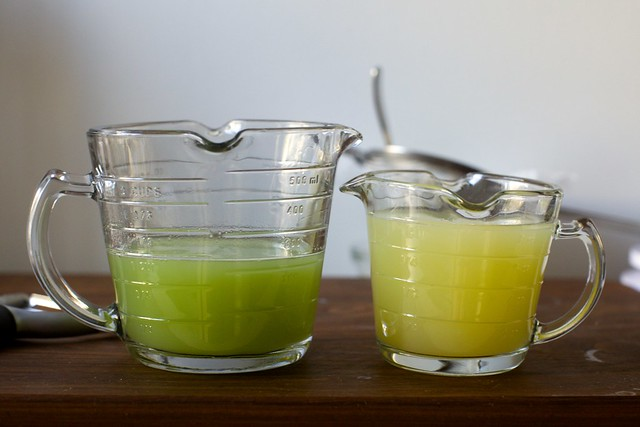 cucumber juice, meet lemon juice