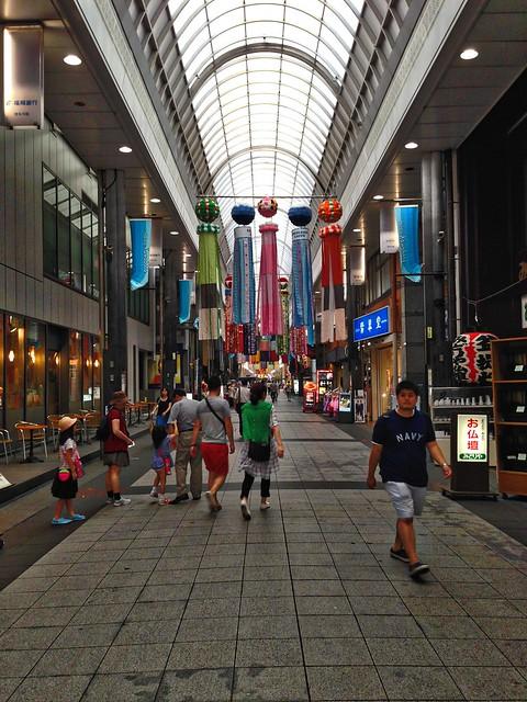 Walkway to Canal City, Fukuoka