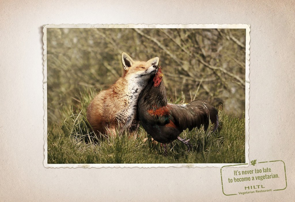 Hiltl Vegetarian Restaurant - Animal friendship 3