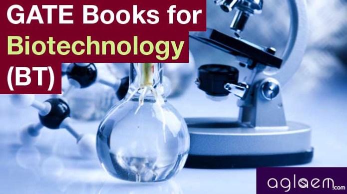 GATE Books for Biotechnology (BT)