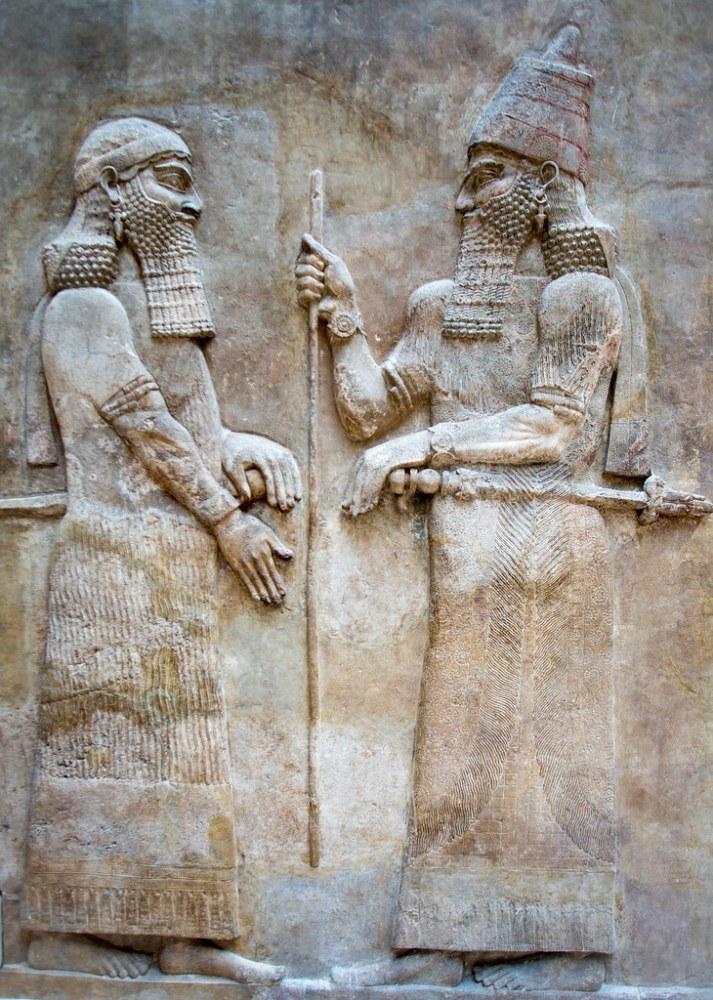 Cour Khorsabad, Palace of Sargon II, Louvre (3/4)