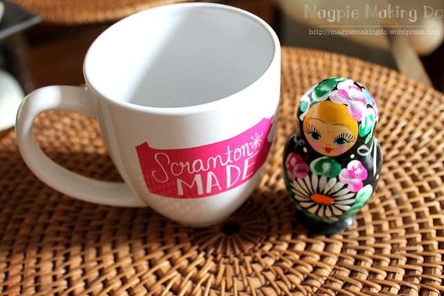 mug and matryoshka