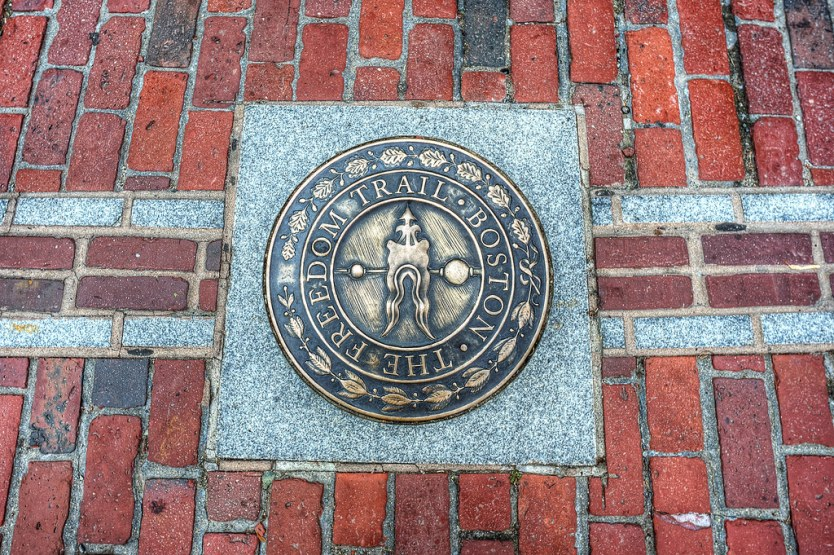 The Freedom Trail.