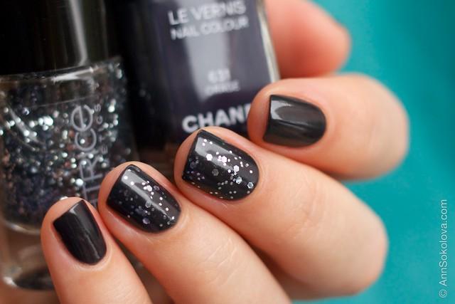 04 Chanel #631 Orage + Catrice #40 I'm Dynamite