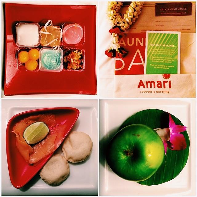 Love the mini-bites midnight snack at Amari :)  Good Night!  @diASIAtourism #DIABKK