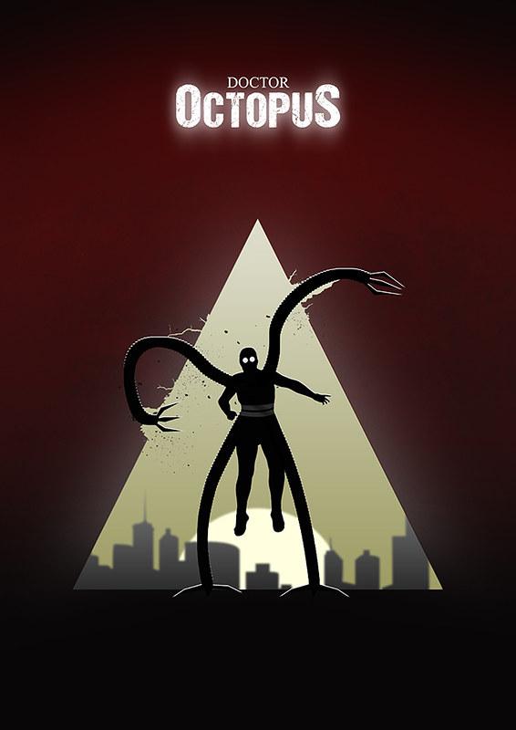 Doctor Octopus poster design