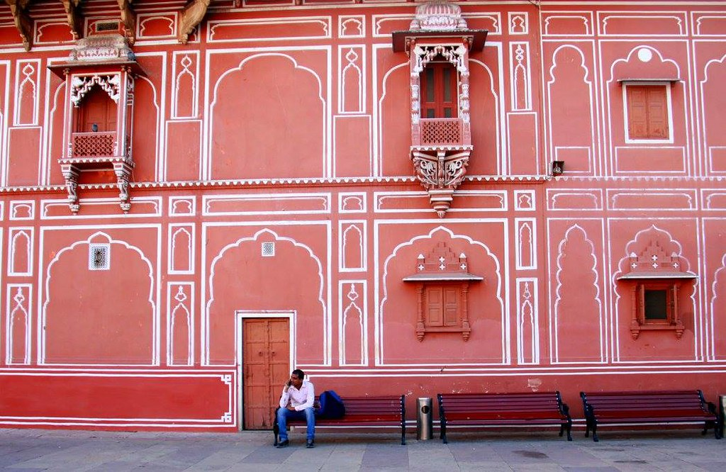 jaipur is known as the pink city