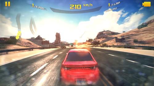 เกม Asphalt 8: Airborne บน Samsung Galaxy K Zoom