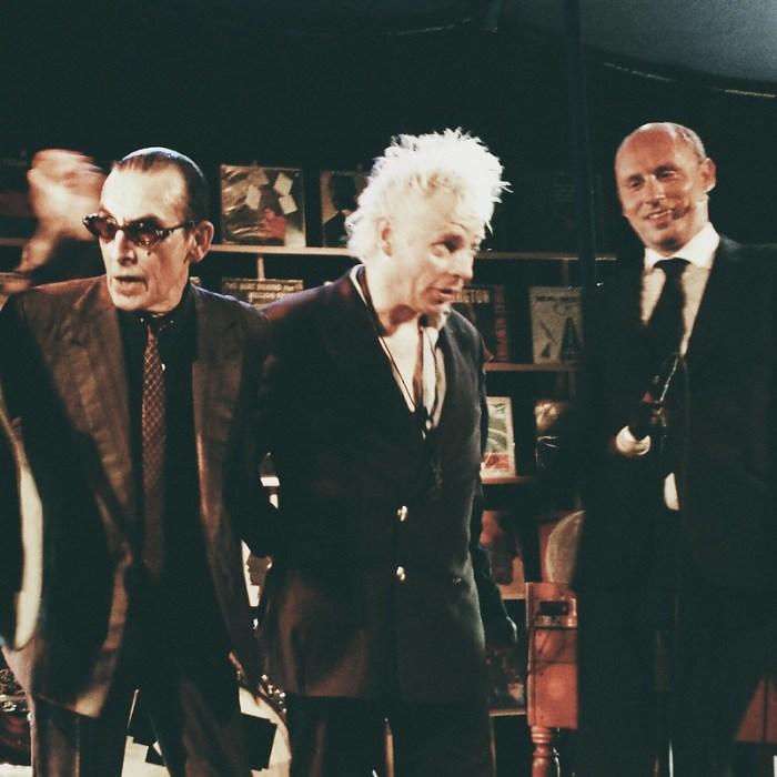 De Deeldeliers met Van Deelden, Den Boris en Dominee van Lier (Erik de Noorman maakte de pleiterik voor deze feauxteaux)