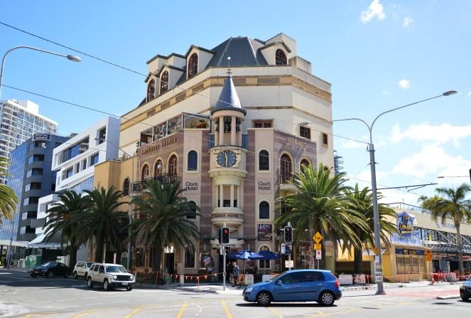 Clock Hotel, Surfer's Paradise, Gold Coast, Australia
