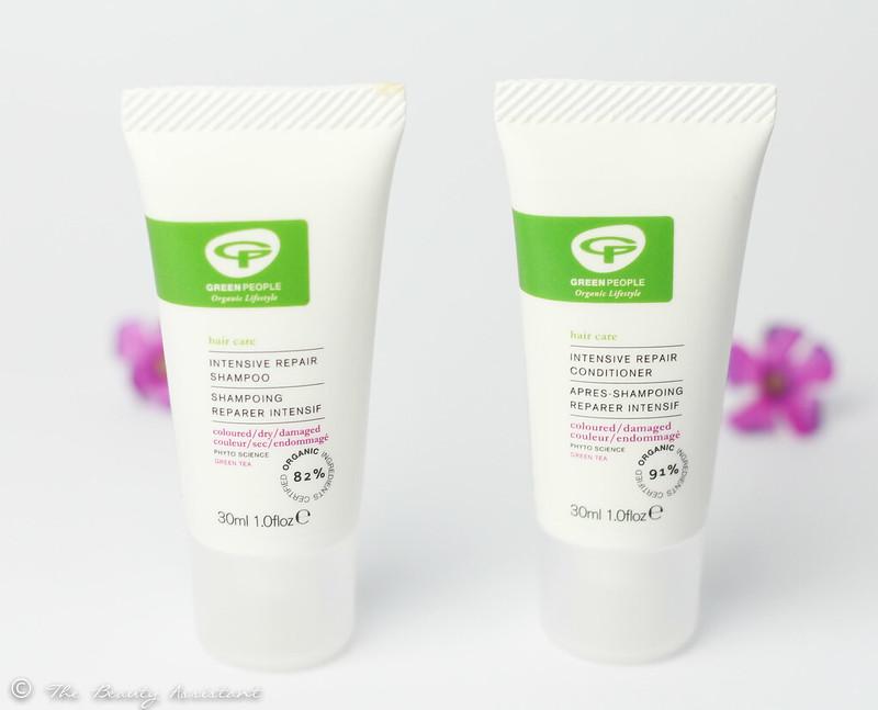 Green People Intensieve Herstellende Shampoo & Conditioner