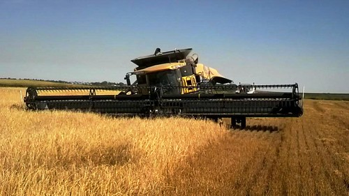 The combine sunk overnight