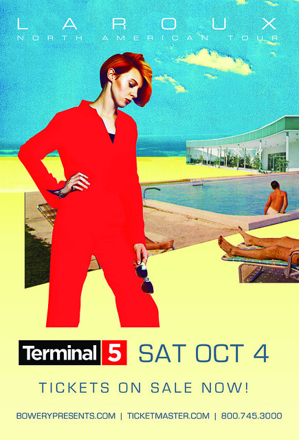 La Roux, AudioFuzz, Bowery, Terminal 5