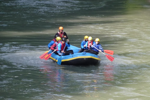 Rafting på Salzach ved Taxenbach