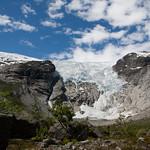 5 viajefilos en Noruega, Bergstetbreen 02