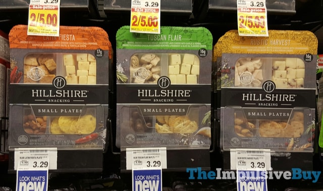 Hillshire Snacking Small Plates (Latin Fiesta, Tuscan Flair, and Rustic Harvest)