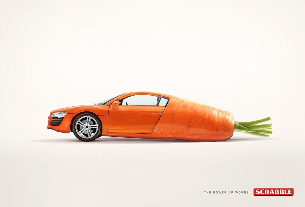 Scrabble - Car Rot