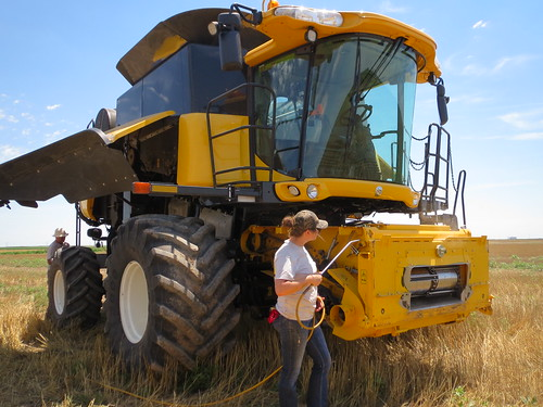 Z Crew: Blowing off the combine