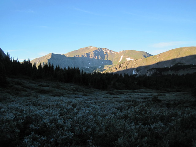 Picture from Mt. Harvard, Colorado