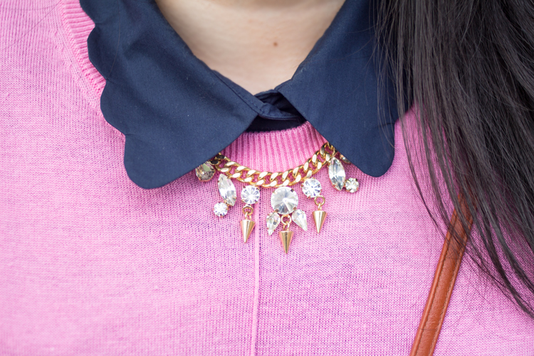 COS Collar and Necklace