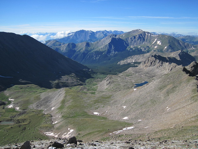 Picture from Mt. Harvard & Mt. Columbia