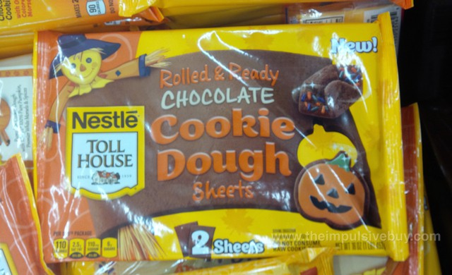 Nestle Toll House Rolled & Ready Chocolate Cookie Dough Sheets