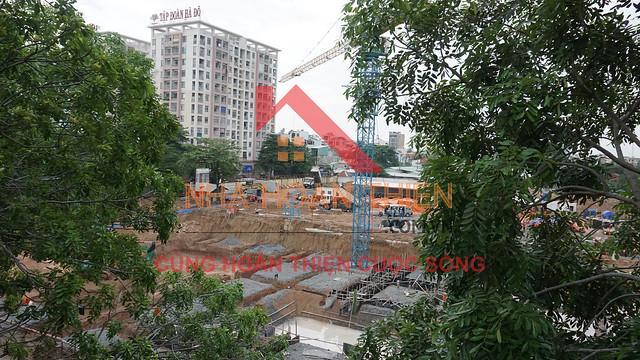 Một số hình ảnh cập nhật tiến độ xây dựng của Chủ Đầu Tư CityLand ở dự án Park Hills. HOTLINE: 0979.30.2828