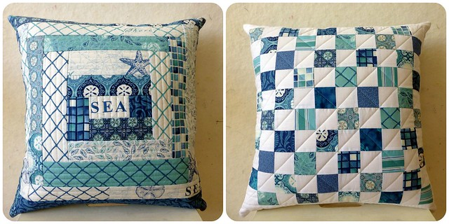 Seascapes cushion for M&D