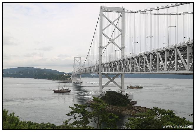 四國,日本,渦之道,紀念館,關西國際機場,鳴石公園鯛魚生魚片,鳴門大橋 @VIVIYU小世界
