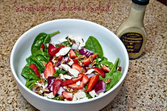 Stawberry Chicken Salad