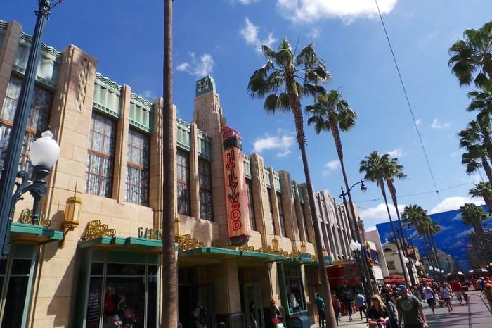 Hollywood at California Adventure