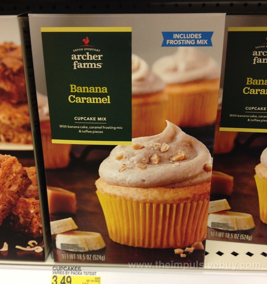Archer Farms Banana Caramel Cupcake Mix