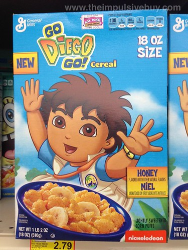 General Mills Go Diego Go! Cereal