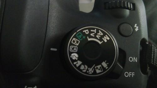 ตัวเลือกโหมดถ่ายภาพแบบต่างๆ ของ Canon EOS1200D