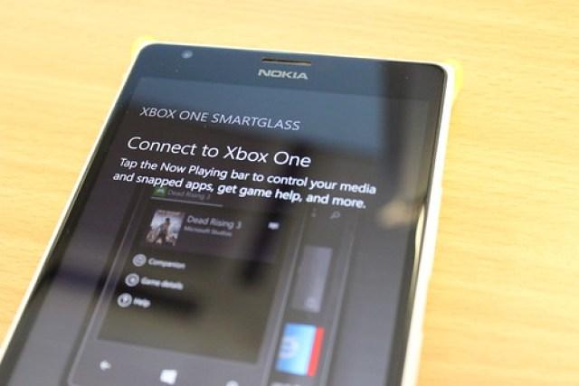 SmartGlass on Windows Phone