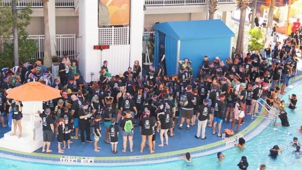 Teenage Mutant Ninja Turtles Guinness World Record Breaking at Nick Hotel
