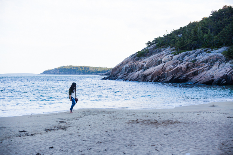 acadia national park | sand beach