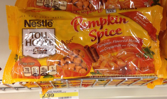 Nestle Toll House Limited Edition Pumpkin Spice Morsels