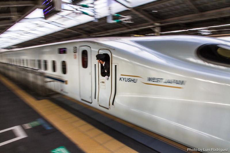 N700 de JR Kyushu por línea Sanyō