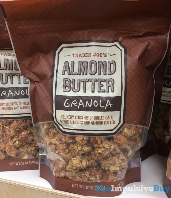Trader Joe's Almond Butter Granola