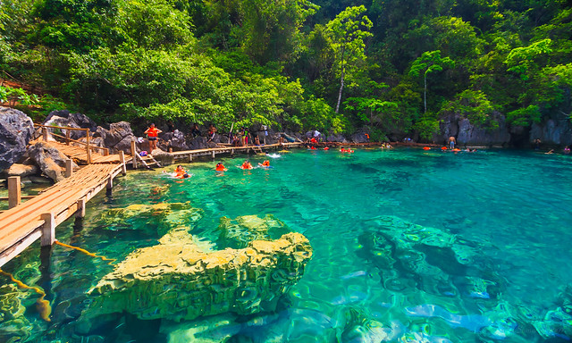 Kayangan Lake in Coron Island, Palawan