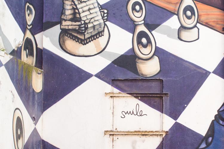 brighton smile graffiti