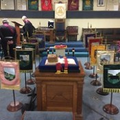 Phoenix Chapter No. 34 Mark Master Mason Initiation and Official Visit.