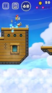รูปแบบการเล่นเกม Super Mario Run