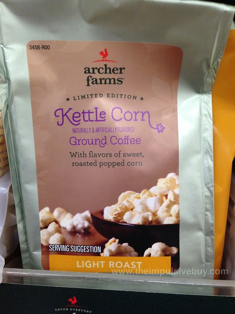 Archer Farms Limited Edition Kettle Corn Ground Coffee