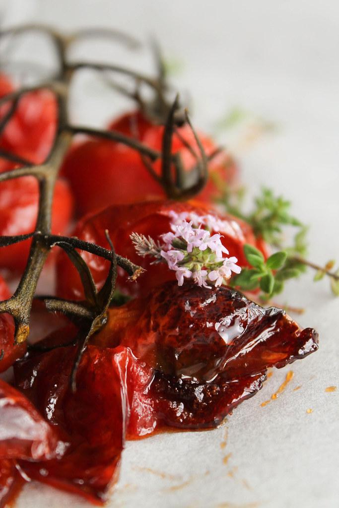 Recette de tomates cerises confites