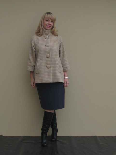 Iconic Patterns Jackie Coat