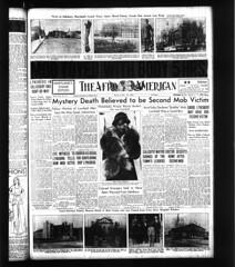 Matt Williams Barbarically Lynched in Salisbury Md: 1931