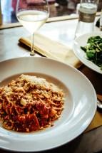 Torino: spaghetti all'Amatriciana @ Eataly